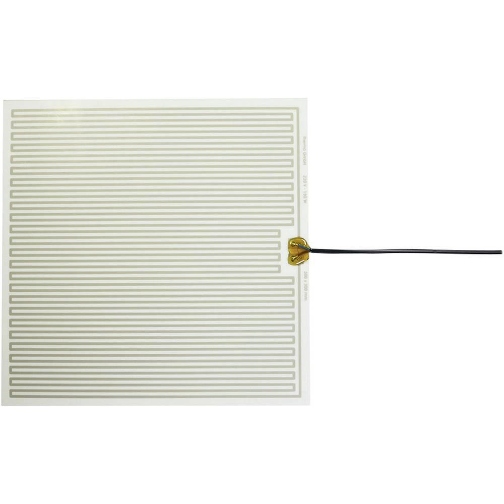 Polyester Varmefolie selvklæbende 230 V/AC 150 W Beskyttelsestype IPX4 (L x B) 300 mm x 300 mm Thermo