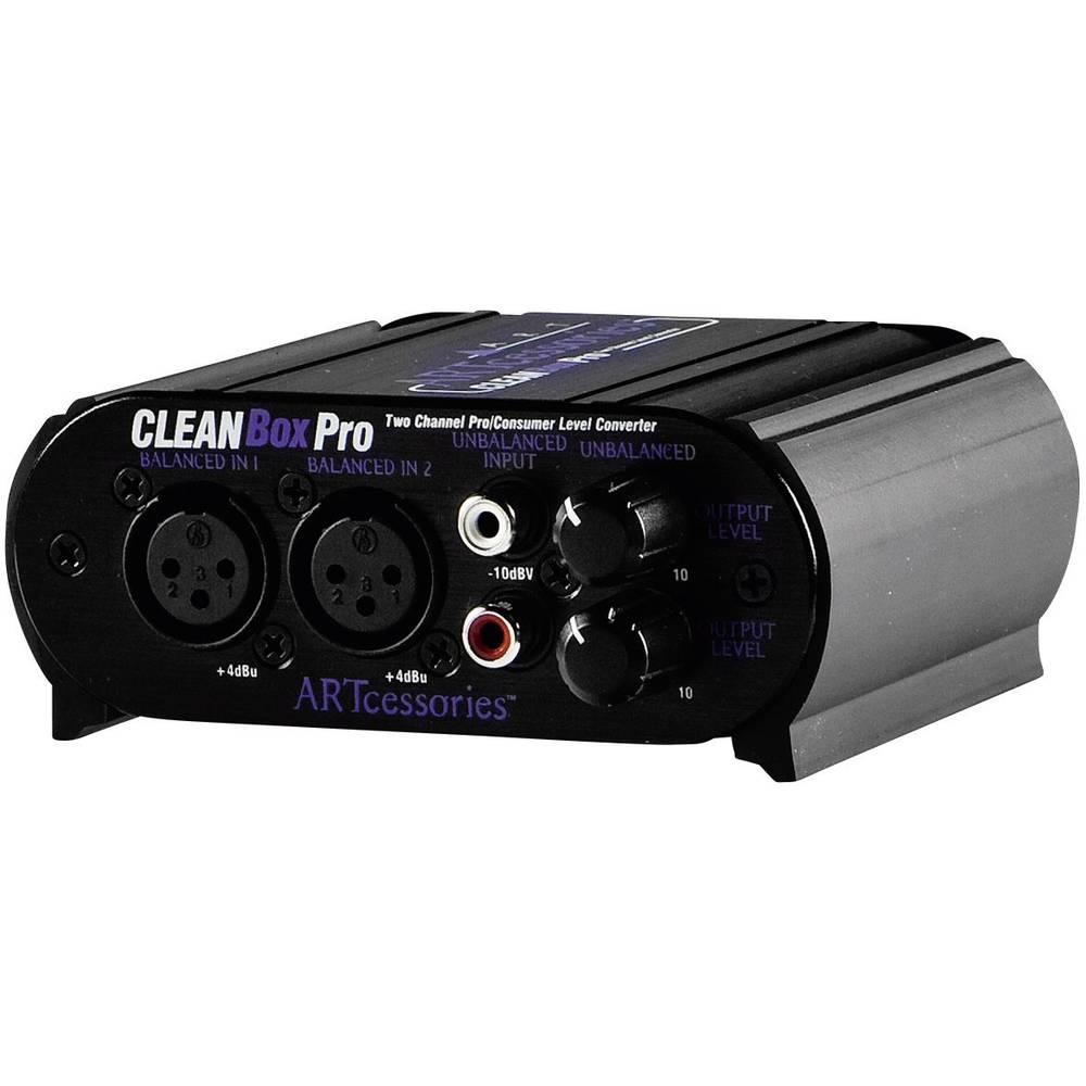Pasivna DI škatla 2-kanalni ART Audio CleanBoxPro