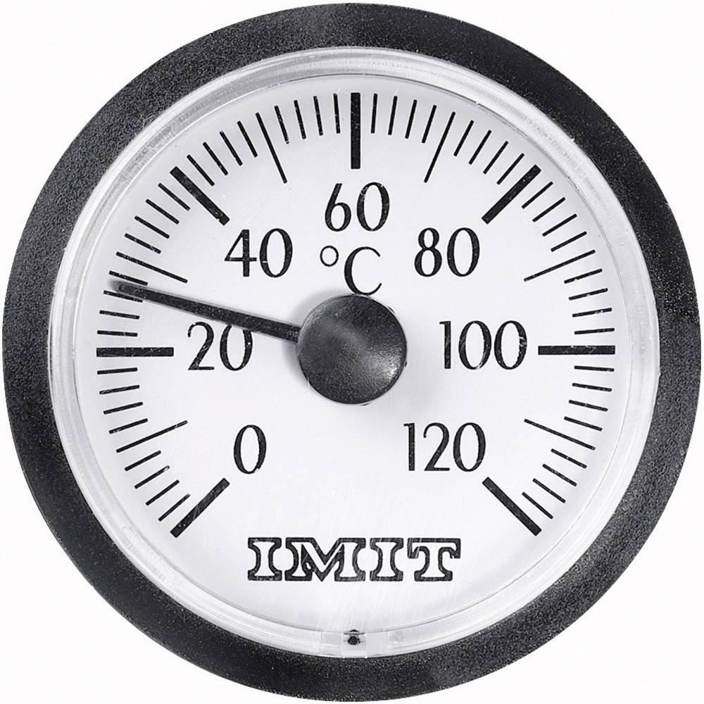 100848 Kapilarni-vgradni-termometer majhen 0 do +120 °C vgradne mere 38.5 mm