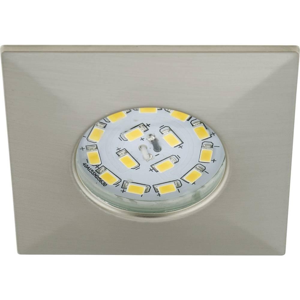 LED ugradno svjetlo za kupaonicu 5 W Toplo-bijela Briloner 7205-012 Nikal (mat)