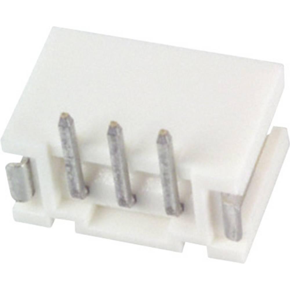 Indbygningsstiftliste (standard) PH (value.1361153) Samlet antal poler 3 JST B3B-PH-SM4-TB (LF)(SN) Rastermål: 2 mm 1 stk