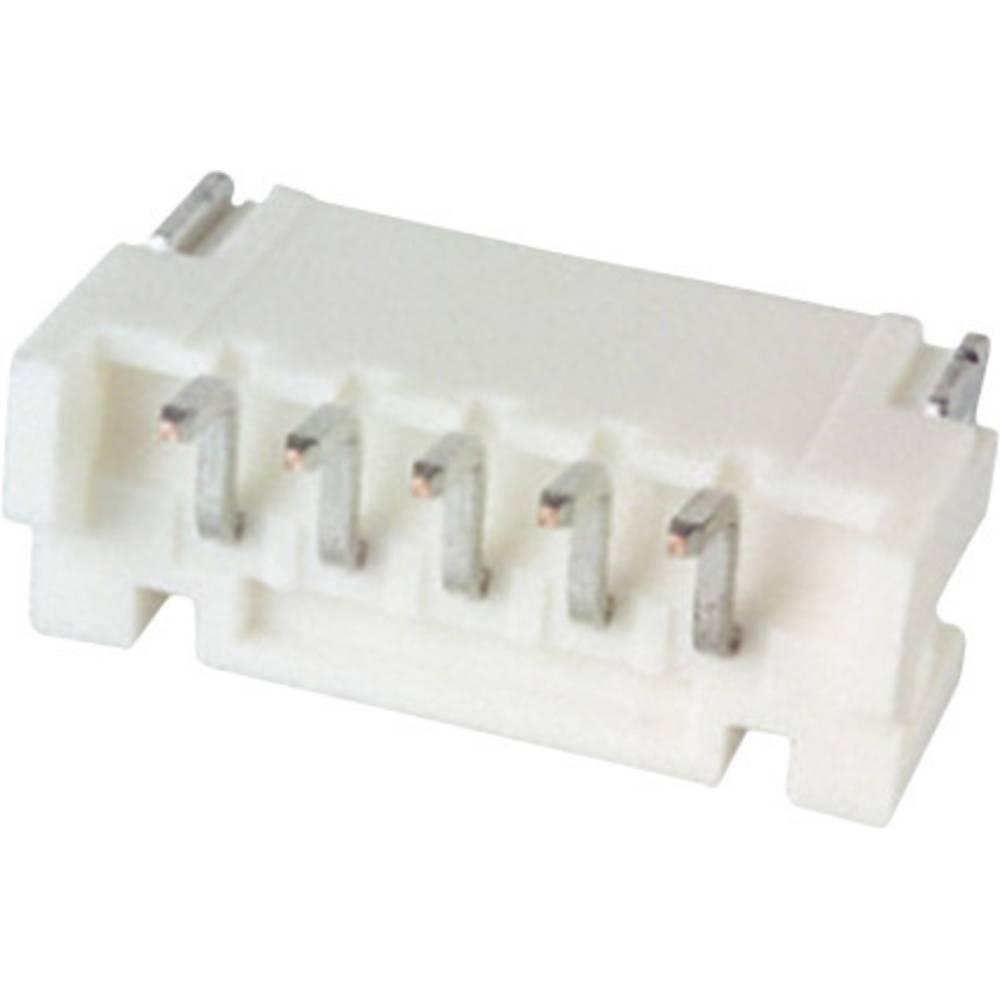 Vgradni pinski konektor (standarden) JST S5B-PH-SM4-TB (LF)(SN), mere: 2 mm 1 kos