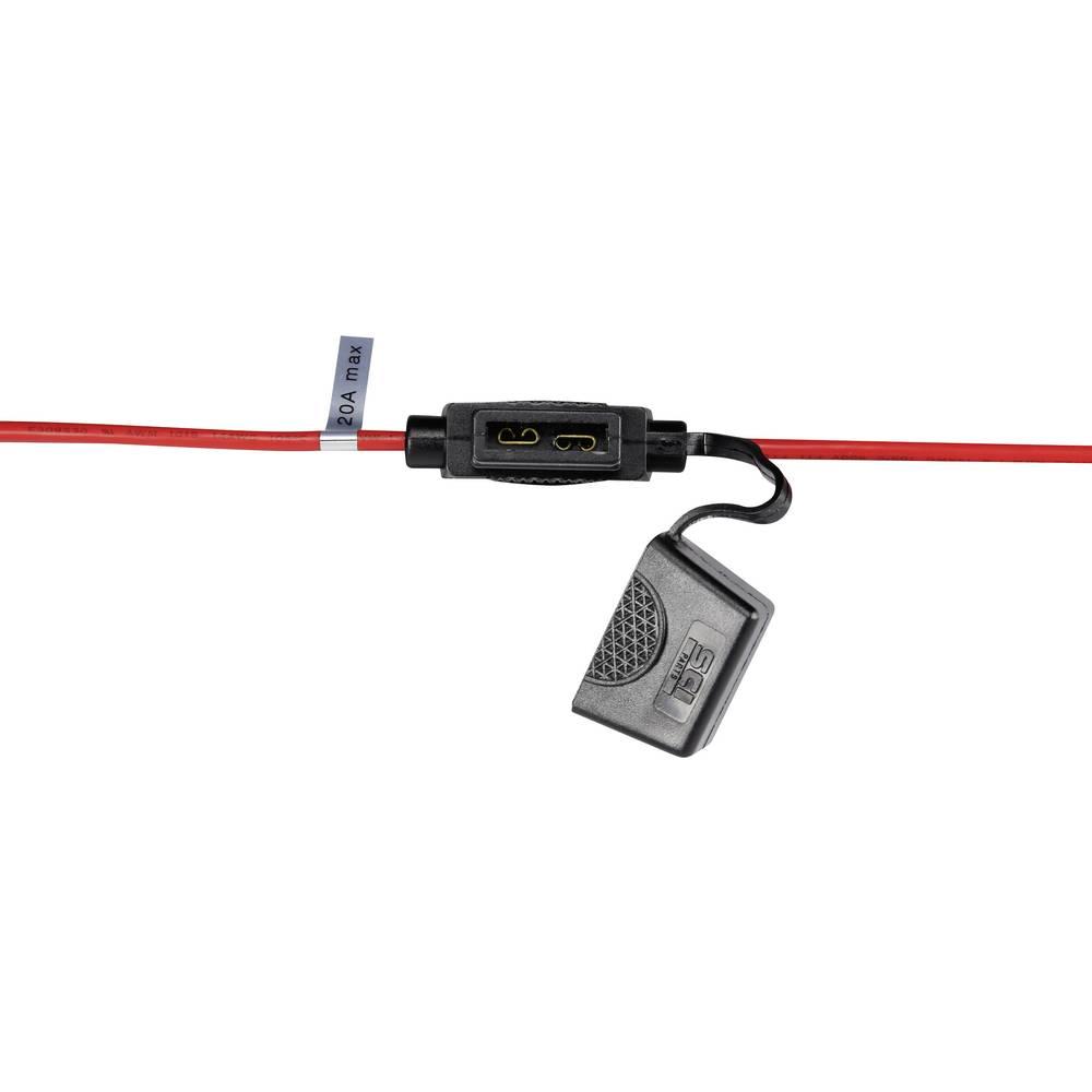Držalo za ploščate varovalke, prečni prerez kabla: 2 mm2 standardna varovalka