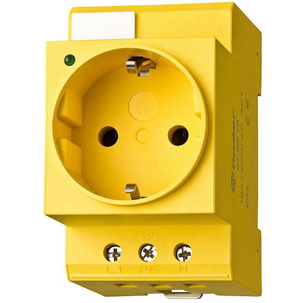 Vtičnica za stikalno omaro primerna za montažo na DIN-letev Finder 07.98.00