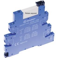 Finder 93.62.7.024 Relejno podnožje Z držalnim ročajem , Z LED, Z EMV preprečevanjem radijskih motenj vezja 10 KOS Primerno za s