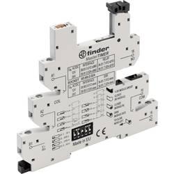 Finder 93.68.0.024 Relejno podnožje Z držalnim ročajem , Z LED, Z EMV preprečevanjem radijskih motenj vezja 10 KOS Primerno za s