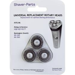 Rakhuvud für Philips HQ8, HQ9, HQ177 und Remington RR-330C, RR-350C Svart 1 set