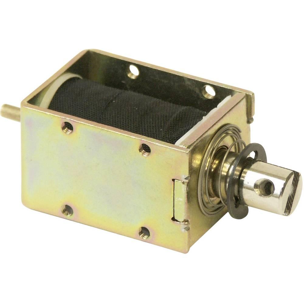 Magnet sa hodom Potisni 0.2 N/mm 6.6 N/mm 12 V/DC 2 W Intertec ITS-LS-1614-D-12VDC