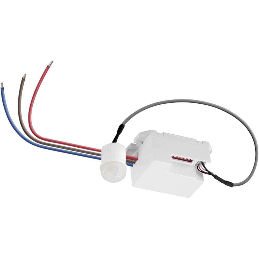 Goobay 96006 Mini vgradni detektor gibanja 360° bele barve, kot zajemanja 360 stikalni kontakt: rele IP20