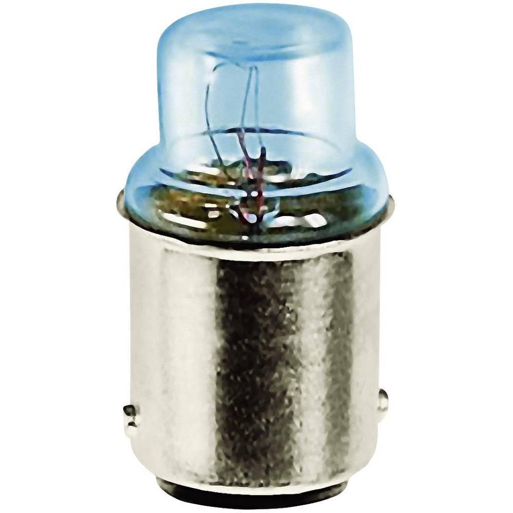 Cevasta žarnica 110 - 130 V 2.6 W 0.02 A podnožje=BA15d prozorna Barthelme vsebina: 1 kos