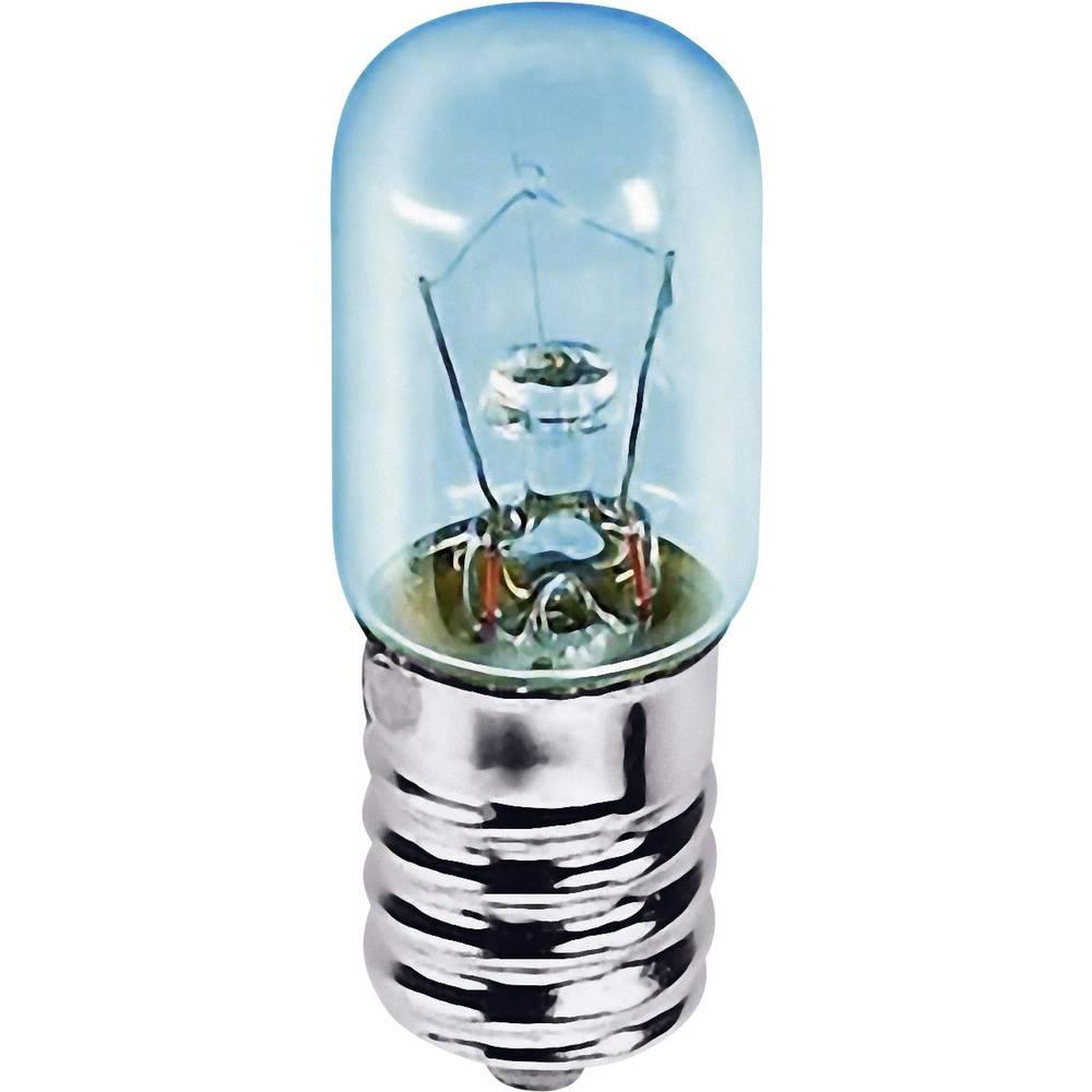 Cevasta žarnica 24 V 15 W 625 mA podnožje=E14 prozorna Barthelme vsebina: 1 kos