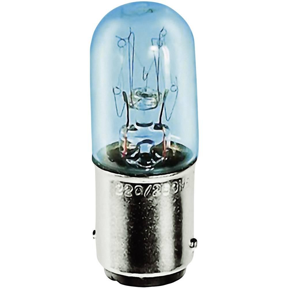 Cevasta žarnica 110 - 140 V 6 - 10 W 0.071 A podnožje=BA15d prozorna Barthelme vsebina: 1 kos