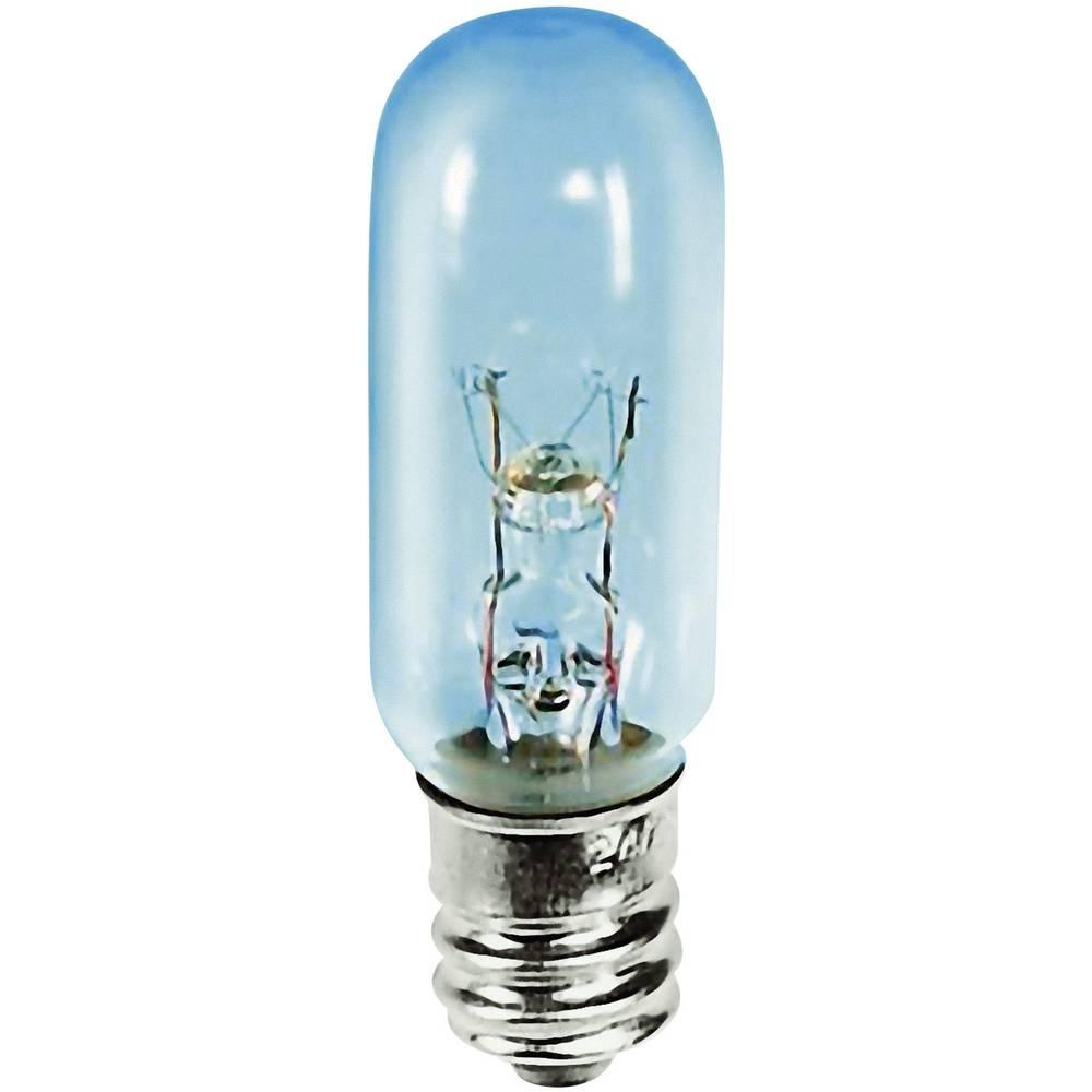 Cevasta žarnica 235 V 15 W 0.063 A podnožje=E12 prozorna Barthelme vsebina: 1 kos