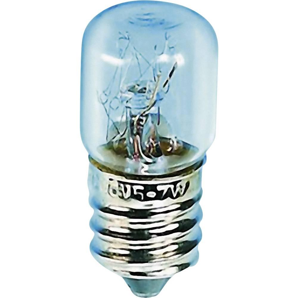 Cevasta žarnica 30 V 5 W 0.166 A podnožje=E14 prozorna Barthelme vsebina: 1 kos