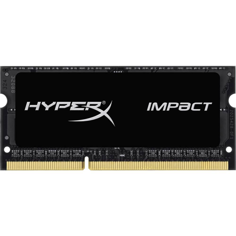 Prenosnik- modul za delovni pomnilnik Kingston IMPACT Black HX316LS9IB/4 4 GB 1 x 4 GB DDR3L-RAM 1600 MHz CL9 9-9-33