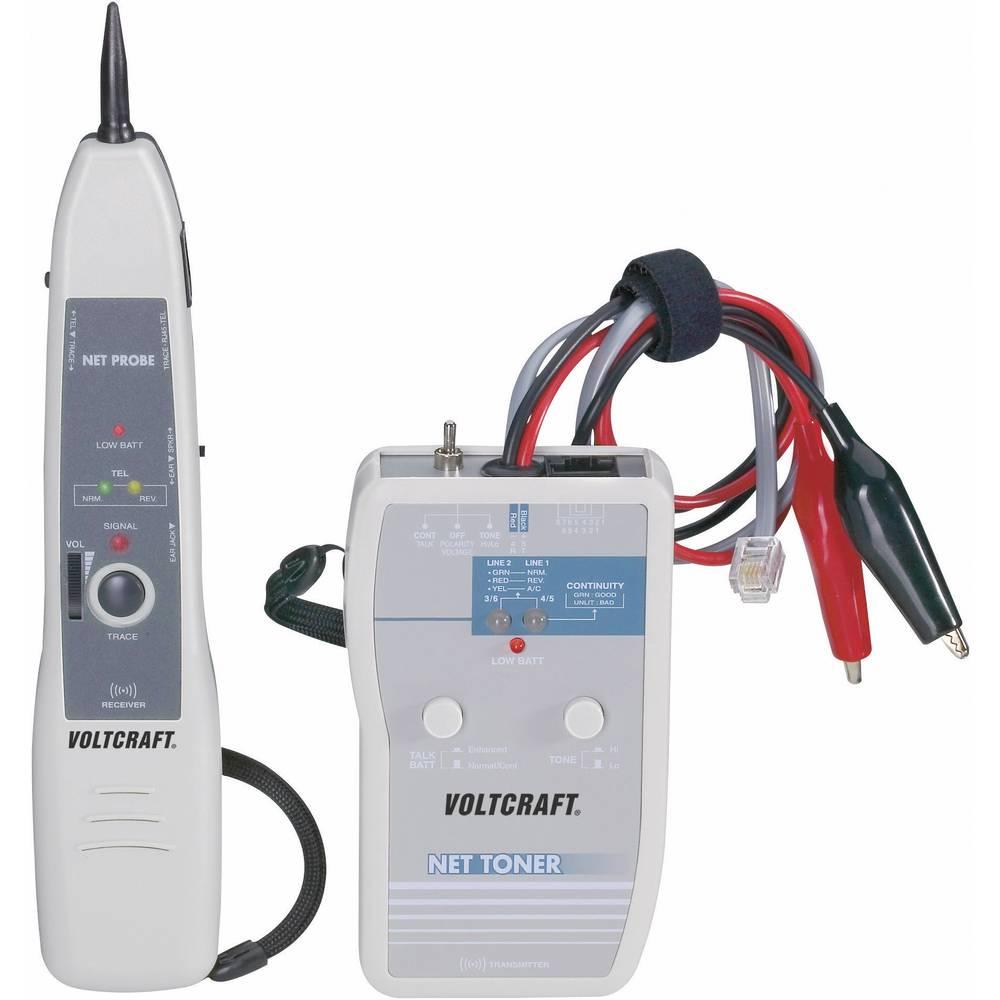 VOLTCRAFT® merilnik napeljav, iskalnik kablov in vodnikov 615 m