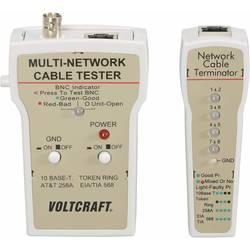 ispitivač kablova VOLTCRAFT CT-1 Prikladno za RJ-45, BNC