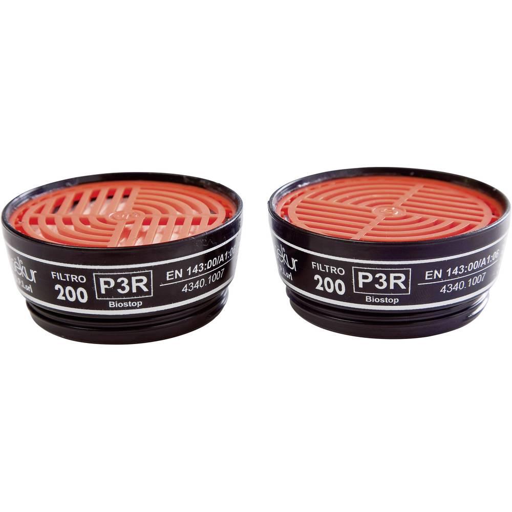 Ekastu Sekur Filter delcev P3R 200 D 422 395, filter razred/stopnja zaščite: P3R D, 2 kosa