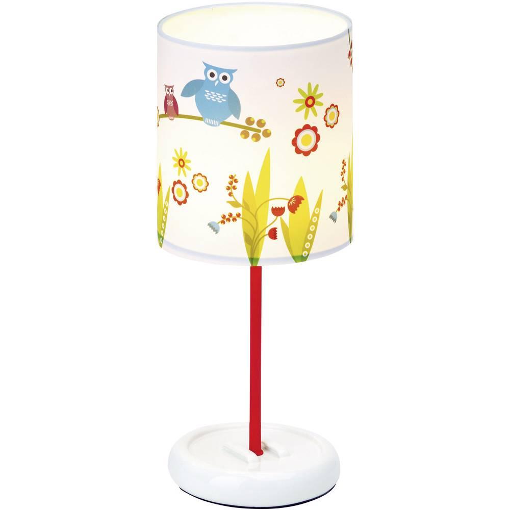 Stolna LED svjetiljka Birds Brilliant LED čvrsto ugrađena šarena