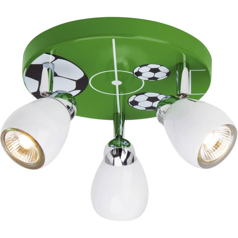 Stropna svjetiljka Soccer Brilliant halogena žarulja GU10 50 W šarena