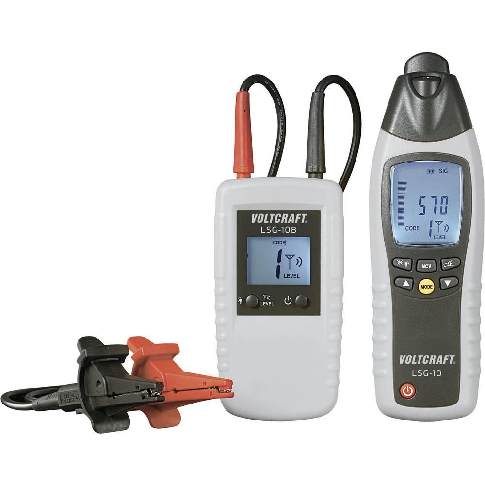 VOLTCRAFT® LSG-10 merilnik napeljav, iskalnik kablov in vodnikov