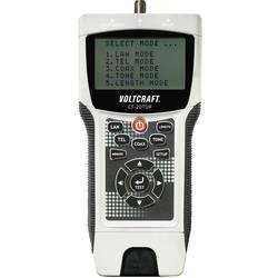 VOLTCRAFT CT-20TDR tester za kable primeren za ne/oklopljene kable, CAT3, CAT4, CAT5, CAT5E, CAT6, Coax