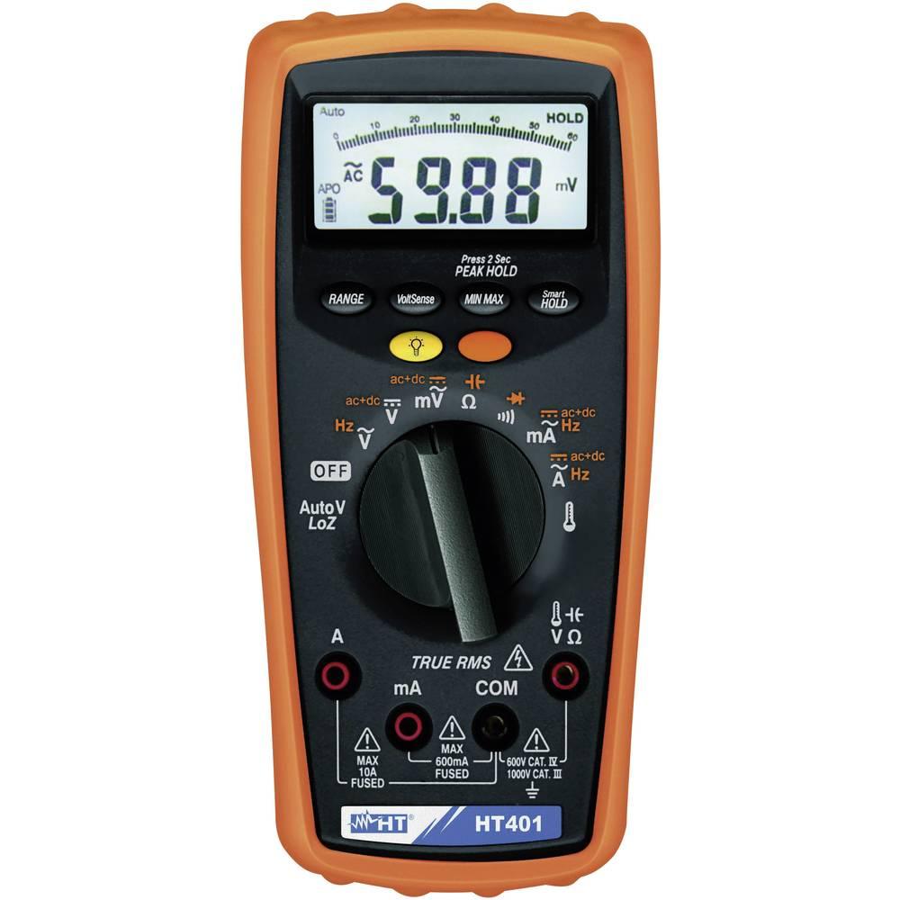 Ročni multimeter, digitalni HT Instruments HT401 kalibracija narejena po: delovnih standardih, CAT III 1000 V, CAT IV 600 V št.