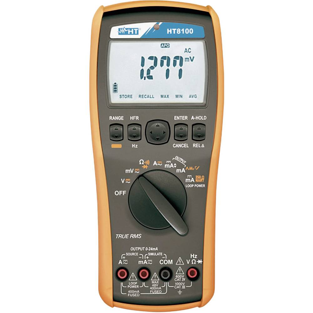 HT Instruments HT8100 kalibrator kalibracija narejena po (DPT) kalibracija narejena po ISO