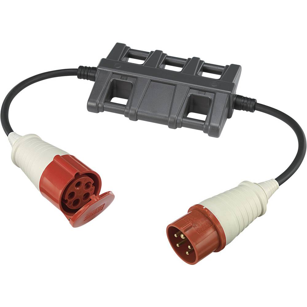 Merilni adapter [CEE-vtič - CEE-spojnica] VOLTCRAFT CLA-3L 16