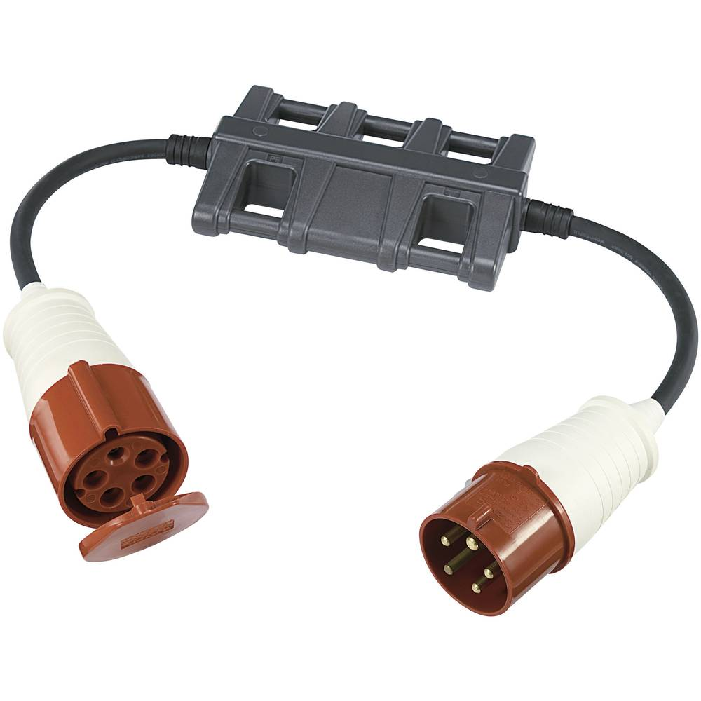 Merilni adapter [CEE-vtič - CEE-spojnica] VOLTCRAFT CLA-3L 32