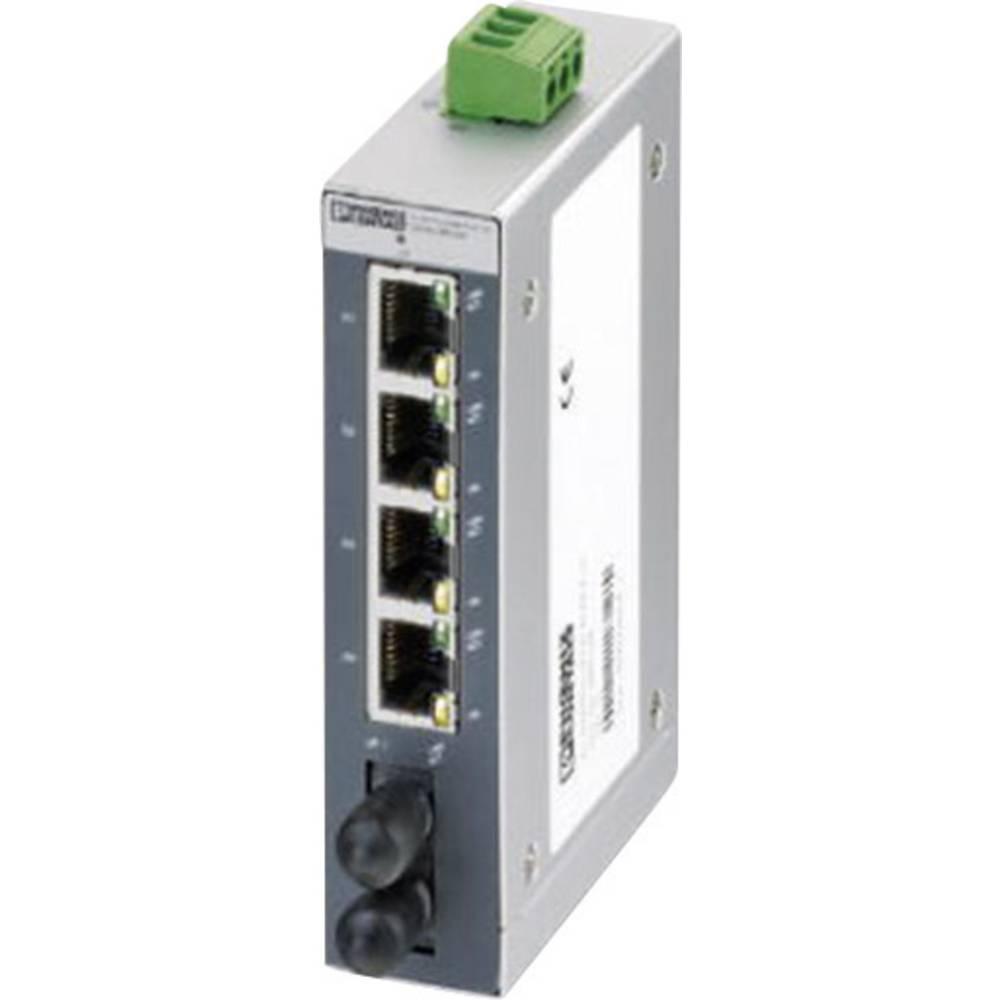 Industrijski eternetski preklopnik Phoenix Contact FL SWITCH SFNB 4TX/FX ST 10 / 100 Mbit/s