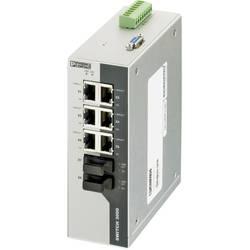 Industrijski eternetski preklopnik Phoenix Contact FL SWITCH 3006T-2FX SM 10 / 100 Mbit/s