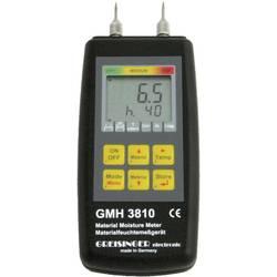 Merilnik vlage v materialu Greisinger GMH 3810 vlažnost v zgradbah (merilno območje): 4 do 100 % vol vlažnost v lesu: 4 do 100 %