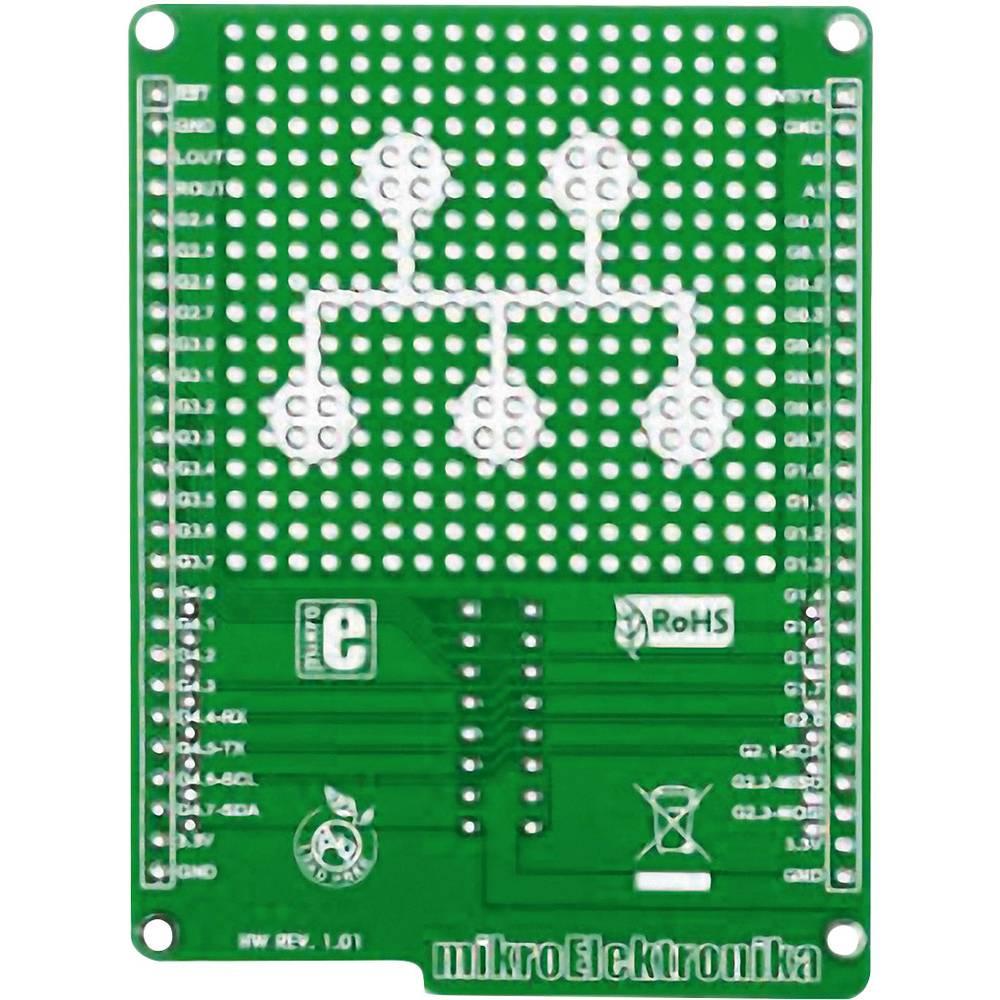 Plošča za tiskano vezje (neopremljena) MikroElektronika MIKROE-1154
