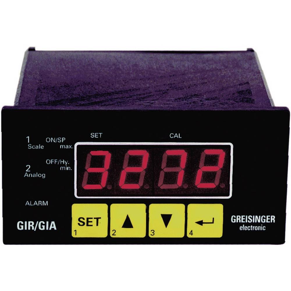 Greisinger GIR 2002 GIR 2002 0- 1 V/0 - 2 V/0 - 10 V/0 - 50mV/4 - 20 mA/0 - 20 mA/0 - 10 603295