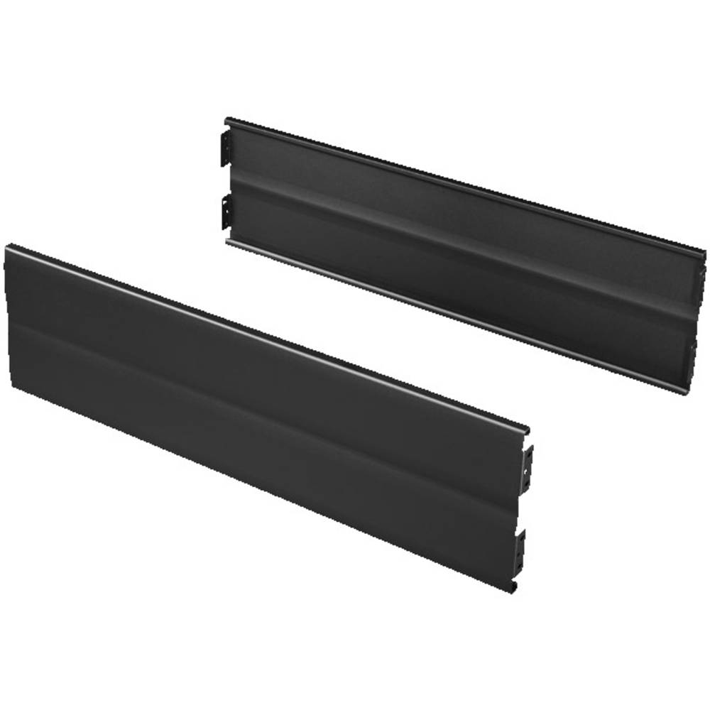 Flex-blok blænde Rittal TS 8200010 (B x H) 1000 mm x 200 mm Stålplade Sort (RAL 9005) 2 stk