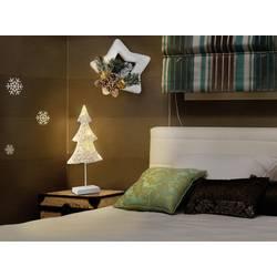 LED božična dekoracija v obliki božičnega drevesa, Polarlite, bele barve, LBA-51-005