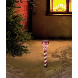 LED božićni ukras PSL-02-001 Polarlite toplo-bijela, LED crvena/bijela