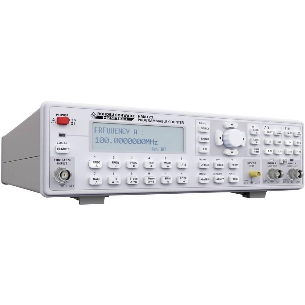 Rohde & Schwarz HM8123 3 GHz univerzalni števec, 0 - 200 MHz