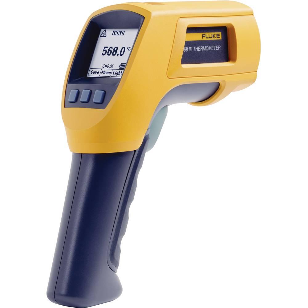 Infrardeči termometer Fluke 568 optika 50:1 -40 do +800 °C kalibracija narejena po: ISO