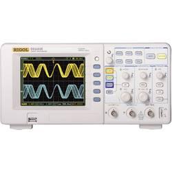Kal. DAkkS-digitalni osciloskop Rigol DS1102E 100 MHz 2-kanalni 500 MSa/s 512 kpts 8 Bit kalibracija narejena po DAkkS digitalne