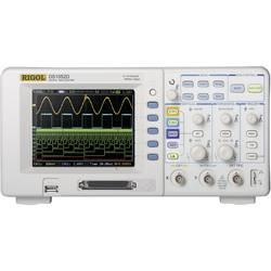 Kal. DAkkS-digitalni osciloskop Rigol DS1052D 50 MHz 18-kanalni 500 MSa/s 512 kpts 8 Bit kalibracija narejena po DAkkS digitalne