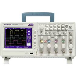 Kal. DAkkS Digitalni osciloskop Tektronix TDS2001C 50 MHz 2-kanalni 500 MSa/s 2.5 kpts 8 Bit kalibracija narejena po DAkkS digit