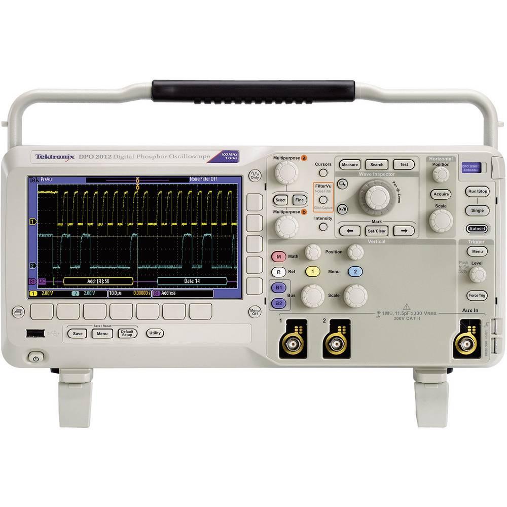 Digitalni osciloskop Tektronix DPO2014B 100 MHz 4-kanalni 1 GSa/s 1 Mpts 8 Bit digitalni pomnilnik (DSO)
