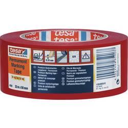 tesa ® Premium talne označbe & opozorilni trak 4169 33 x 50 mm, črn PVC 4169-42-93 TESA, vsebina: 1 rola, 4169-55-93