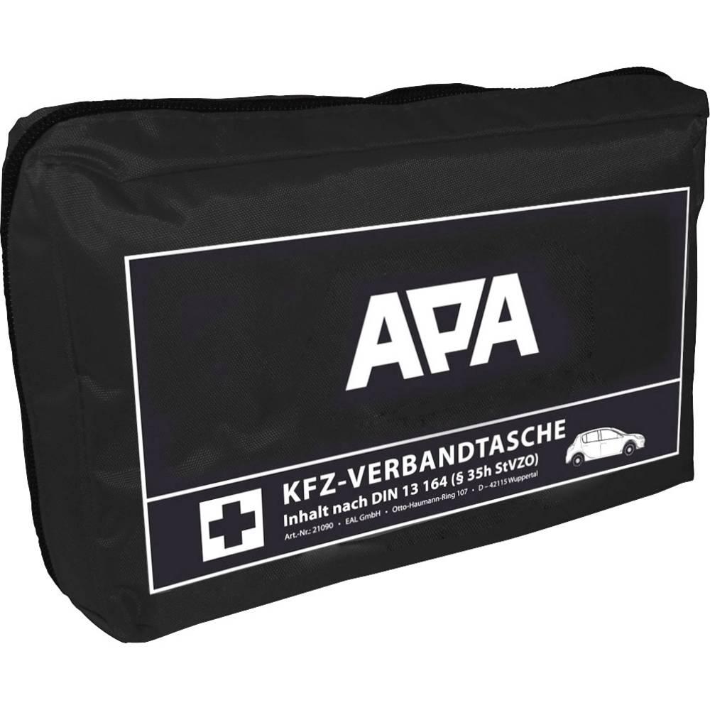 APA Avtomobilski komplet prve pomoči, črn