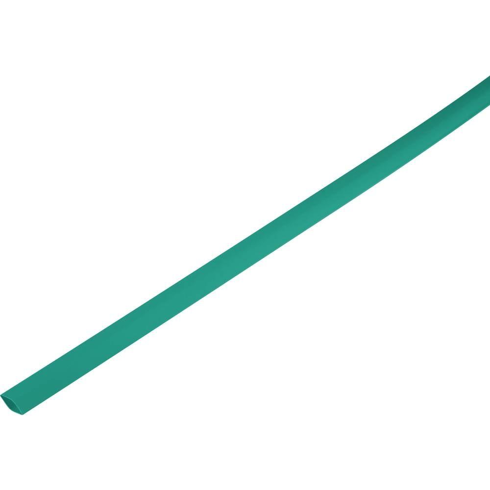 Skrčljiva cev, tankostenska pred/po krčenju: 10.7 mm/5 mm razmerje 2 : 1 zelena