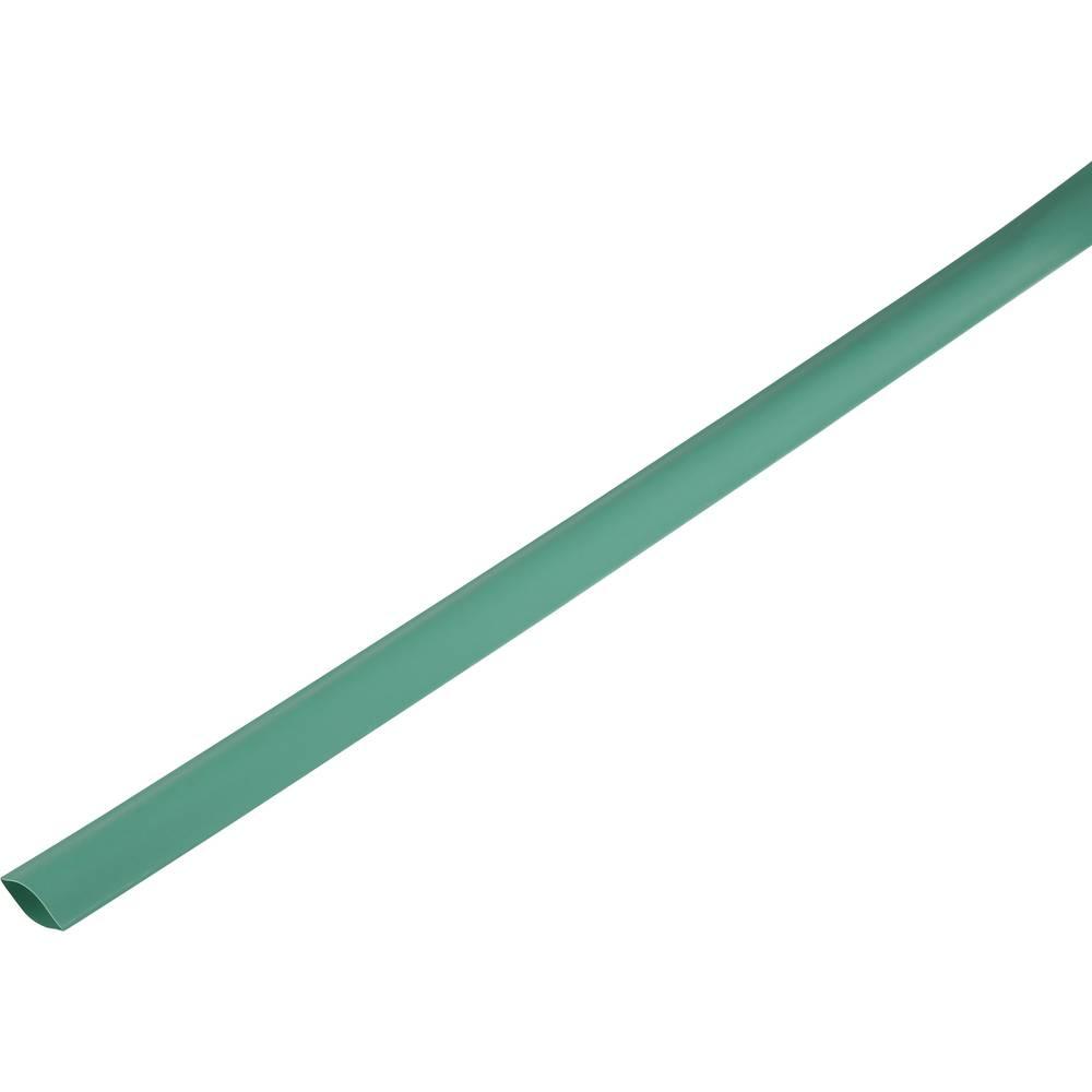 Skrčljiva cev, tankostenska pred/po krčenju: 21 mm/10 mm razmerje 2 : 1 zelena