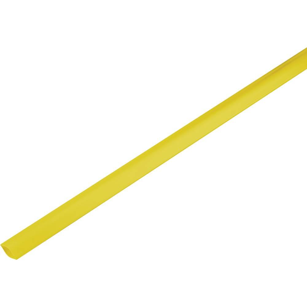 Skrčljiva cev, tankostenska pred/po krčenju: 19 mm/9 mm razmerje 2 : 1 rumena