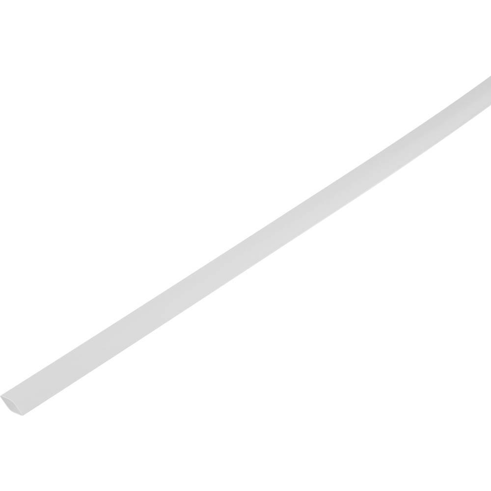 Skrčljiva cev, tankostenska pred/po krčenju: 8.6 mm/4 mm razmerje 2 : 1 bela